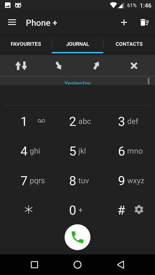 Phone + Contacts and Calls- screenshot