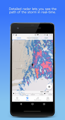Dark Sky - Hyperlocal Weather  screenshots 3