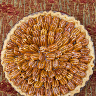 Chocolate Fudge Pie with Salted Caramel Pecans