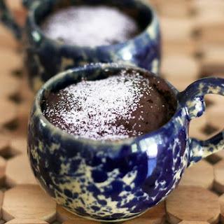 Wacky Chocolate Microwave Mug Cake.