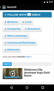 NewsOK- screenshot thumbnail