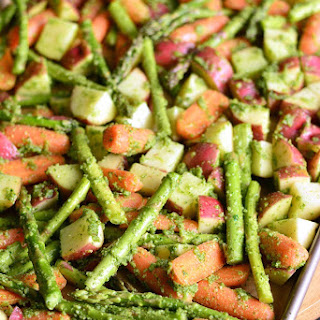Roasted Potatoes Carrots And Asparagus Recipes.