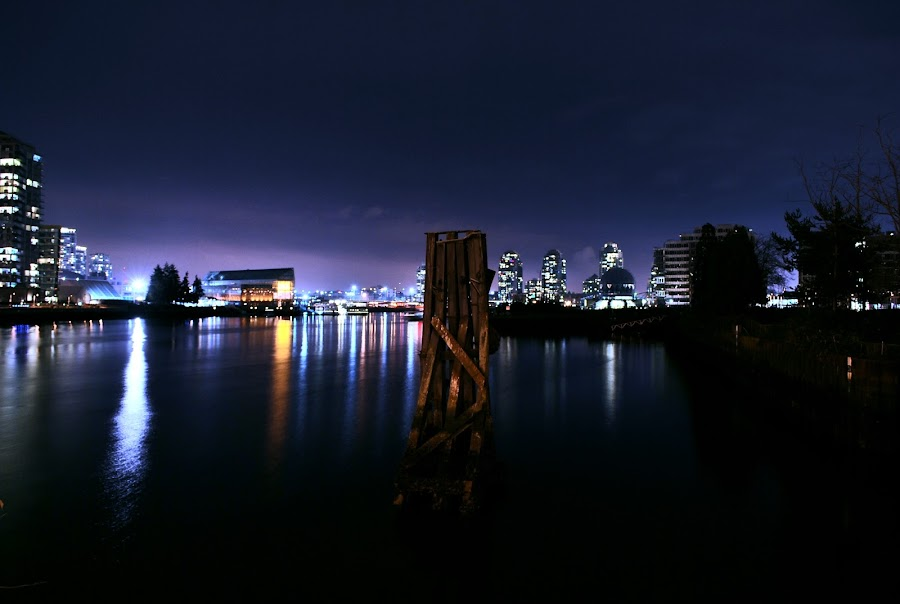 False Creek by Peter S. - City,  Street & Park  Vistas