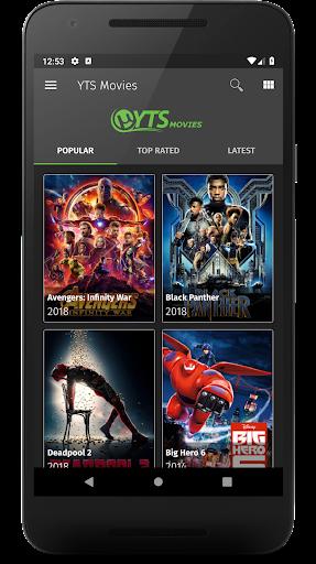 YTS Movies 1 1 Apk Download - yts com yts APK free