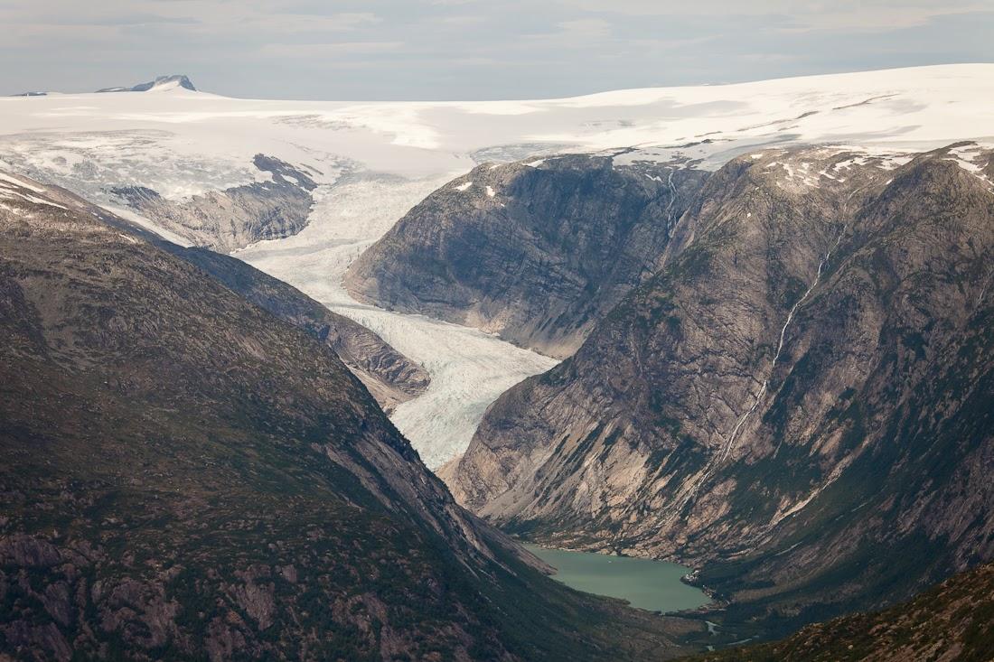 Две недели хайкинга в Норвегии (много фото)