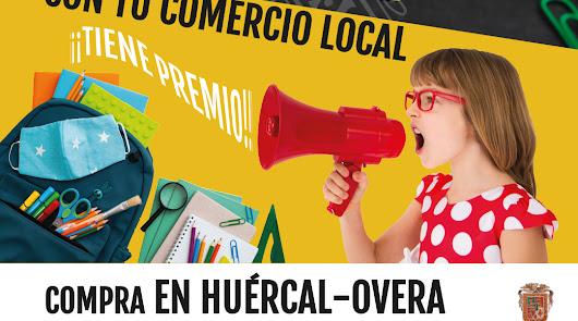 Huércal-Overa incentiva las compras locales de cara a la 'vuelta al cole'