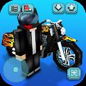 Motorcycle Racing Craft: Moto Games & Building 3D icon