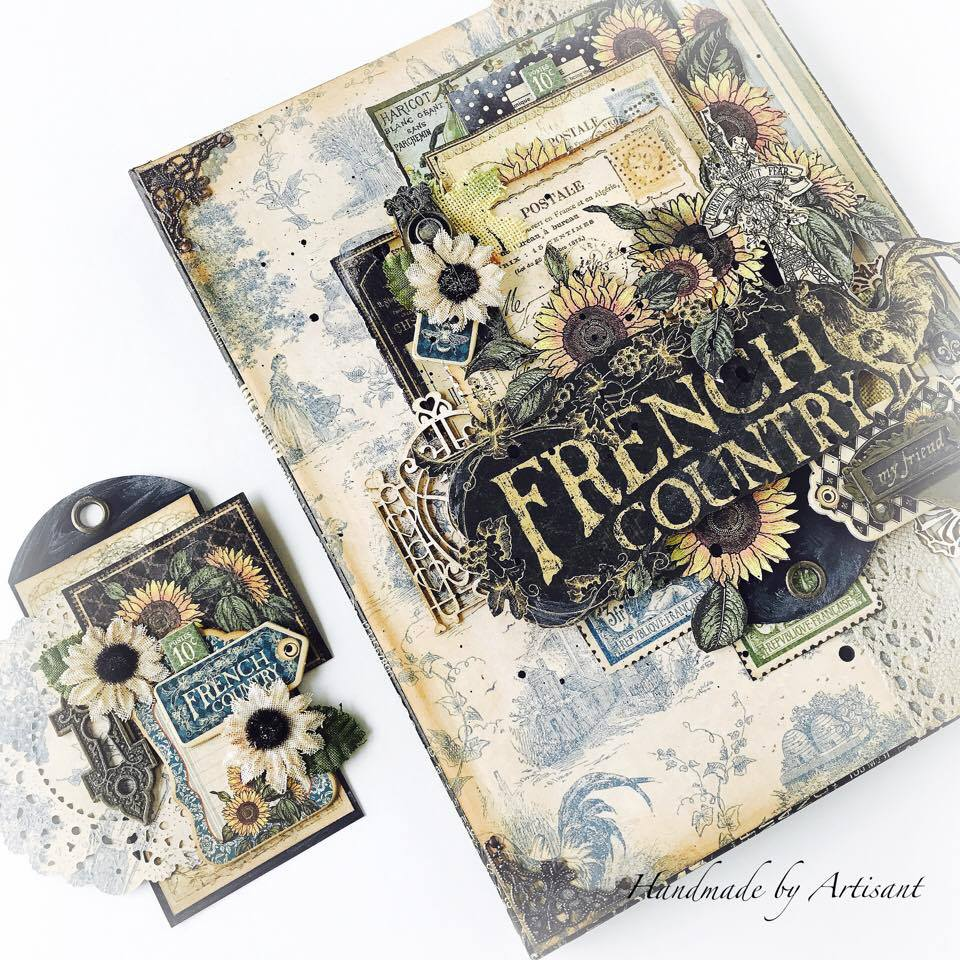 French Country canvas and tag for Graphic 45, by Aneta Matuszewska, photo 2.jpg