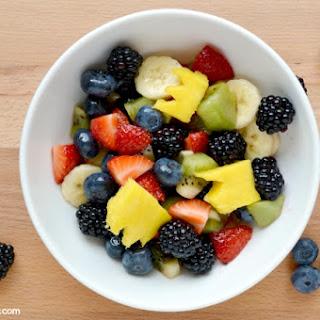 Olympics Themed Fruit Salad