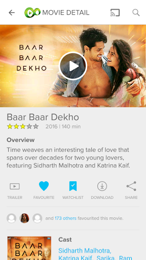 Eros Now: Best of Bollywood movies and stars 3.9.0 screenshots 2