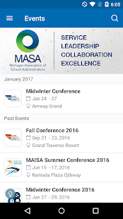 MASA Events- screenshot thumbnail