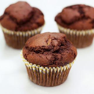 Whole-Grain Chocolate Zucchini Muffins {Gluten-free, Dairy-free & Nut-free}