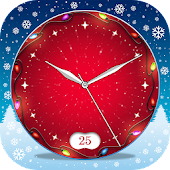Live Clock Wallpaper Christmas