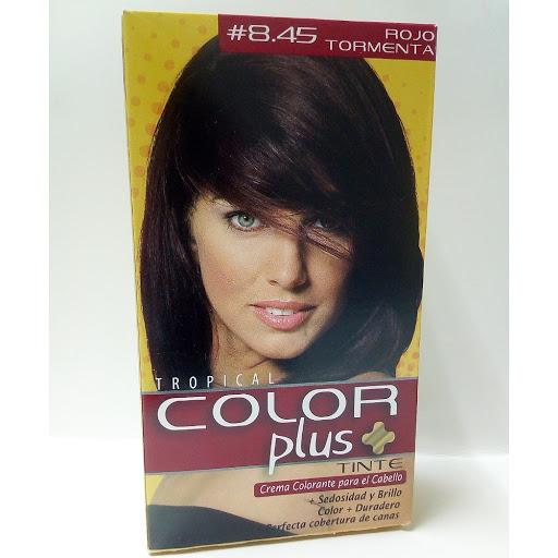 Tinte Color Plus Kit 8.45 Rojo Tormenta