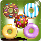 Sweet Donut Blast Match 3 game
