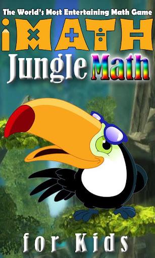 Jungle Math Puzzle for Kids