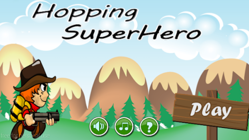 Hopping SuperHero