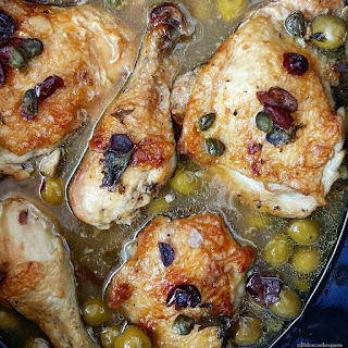 Slow Cooker Slow Cooker Chicken, Olives & Capers