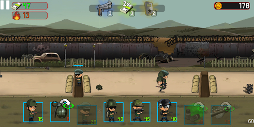 War Troops: Military Strategy Game for Free  screenshots 2