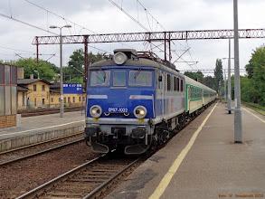 """Photo: EP07-1022, TLK """"Kopernik"""" Warszawa Wschodnia - Kołobrzeg {Toruń Główny; 2013-07-14}"""