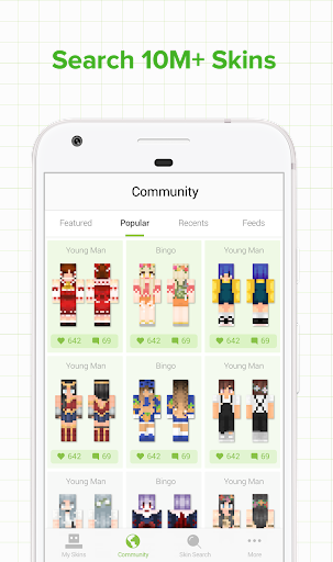 Skinseed for Minecraft for Android apk 1