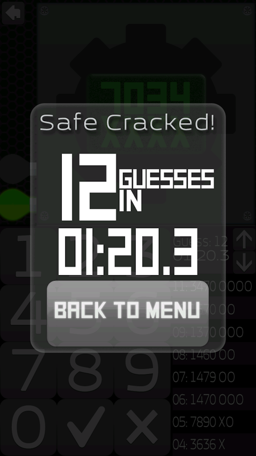 Safe Cracker- screenshot