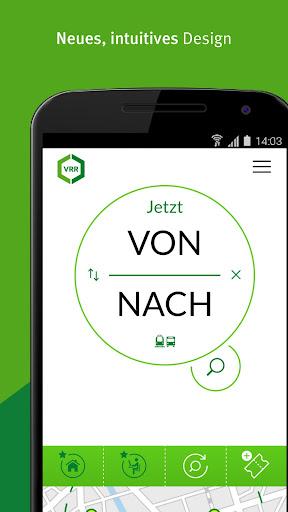 VRR App - Fahrplanauskunft  screenshots 1