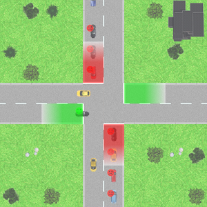 Traffic Control Lanes 1.1 by russuSasha logo