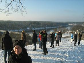 Photo: Merkinės piliakalnis. Pakerėti :)