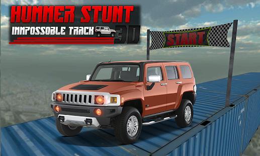 4x4 Hummer Jeep Stunt Race 3D - náhled