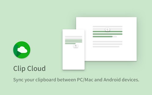 Clip Cloud - Clipboard Sync between PC and Android Screenshot