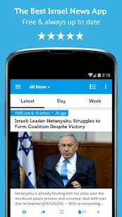 Israel & Middle East News - screenshot thumbnail