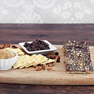 Chocolate Saltine Crackers.