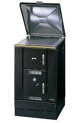 Kökspanna K158 svart 22kW