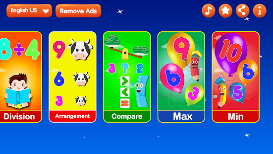 Kids Math Games - Educational Learning for Kids - náhled