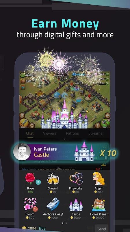 StreamCraft - Live Stream Games & Chat screenshots