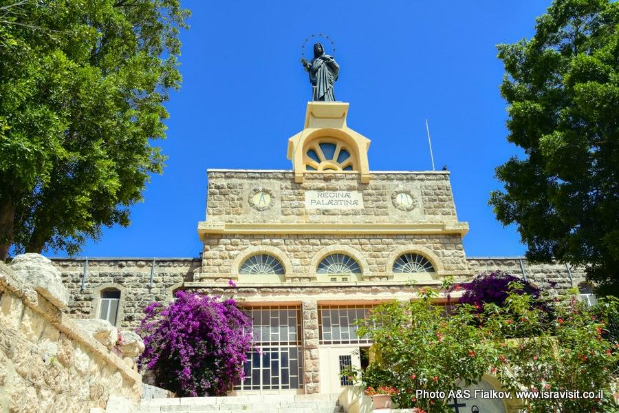 Католический монастырь Дир Рафат, Израиль. Экскурсия в монастыри.