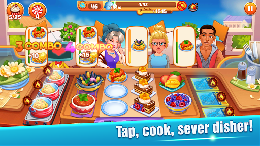 Cooking Master :Fever Chef Restaurant Cooking Game screenshot 1