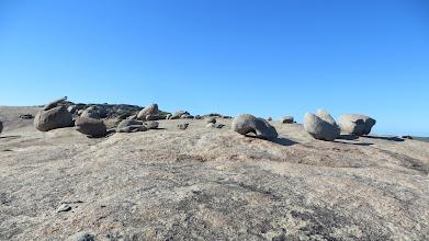 Photo: Climbing the rock at Blackboy Creek