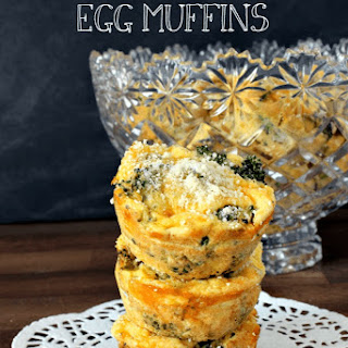 Broccoli and Cheese Egg Muffins