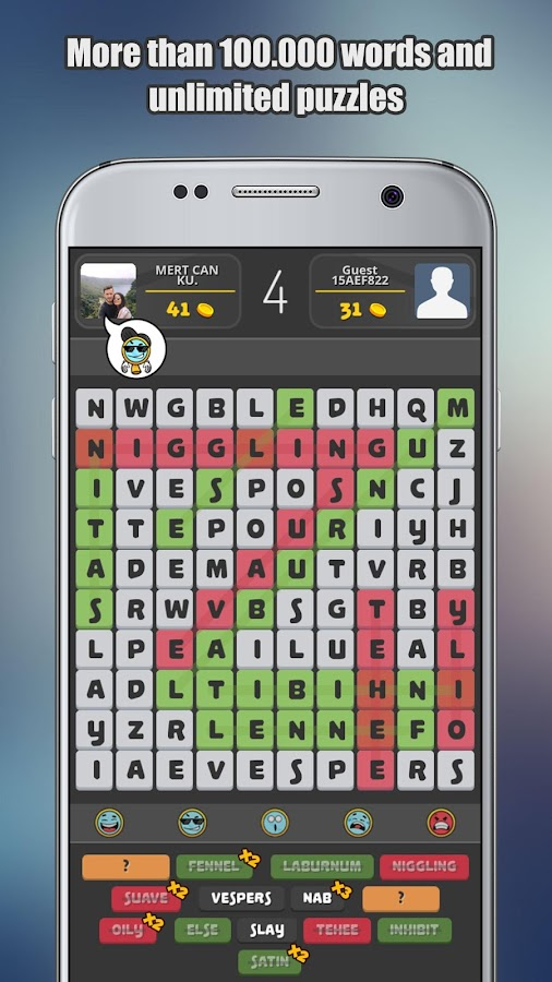 Word Search Online- screenshot