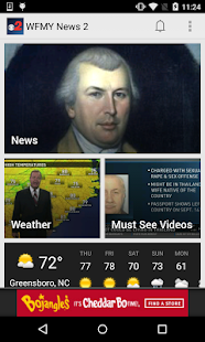 WFMY News 2- screenshot thumbnail