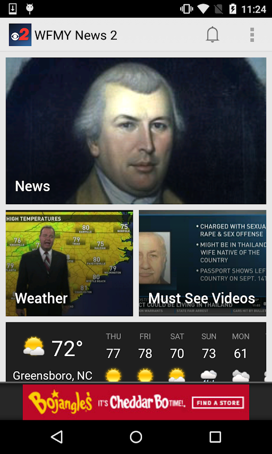 WFMY News 2- screenshot