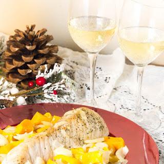 One Pan Pork Tenderloin Holiday Dinner.