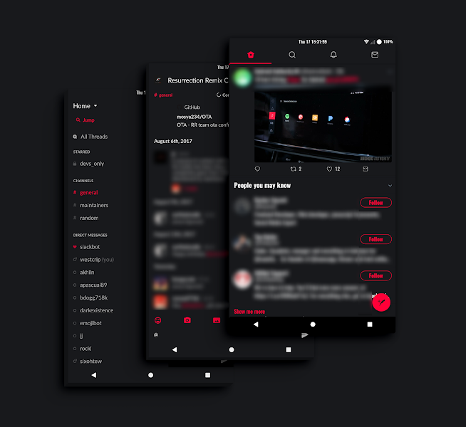 PitchBlack Origins│Dark & Black Substratum Theme v20.6 [Patched]