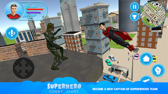 Superhero: Funny Story - náhled