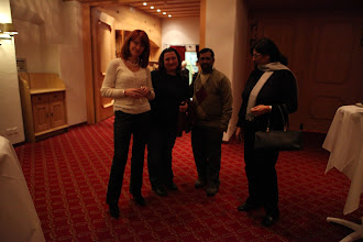Photo: Yanina Dubeykovskaya, Valentina Atanasova, Yogesh Joshi, Roma Balwani