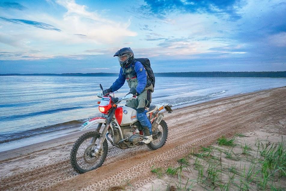 Einsatz des Boxer´s am größten See Europas - Ladogasee bei der EnduroBoxer Tour 2017