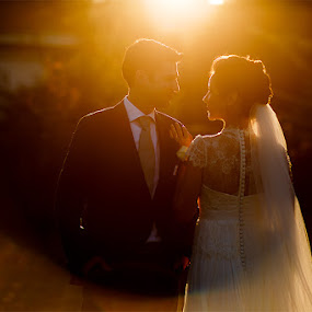 contrejour amour by Petrica Tanase - Wedding Bride & Groom ( love, bestoftheday, wedding, bride and groom, bride )
