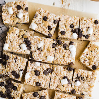 S'Mores Rice Krispies Treats Recipe